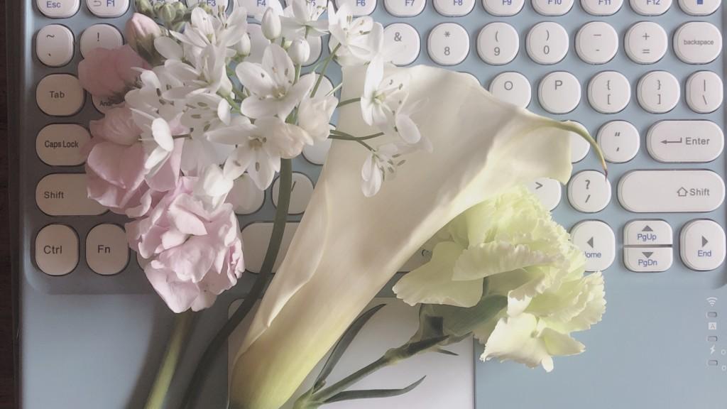 ブルーミーで届いたお花