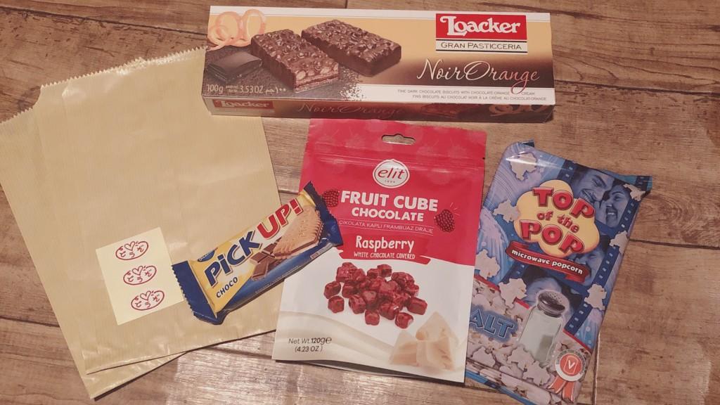 フェリシモの海外お菓子の定期便に入っていたお菓子
