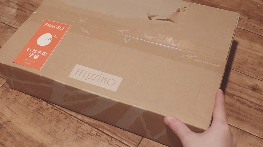 フェリシモの海外お菓子の定期便が到着!