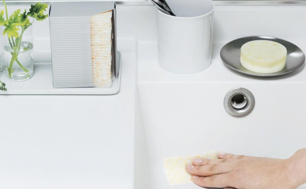 フェリシモメリーポイントで届いた「1/d予防家事おトクset6」に入っていた洗面台用ミニワイプ