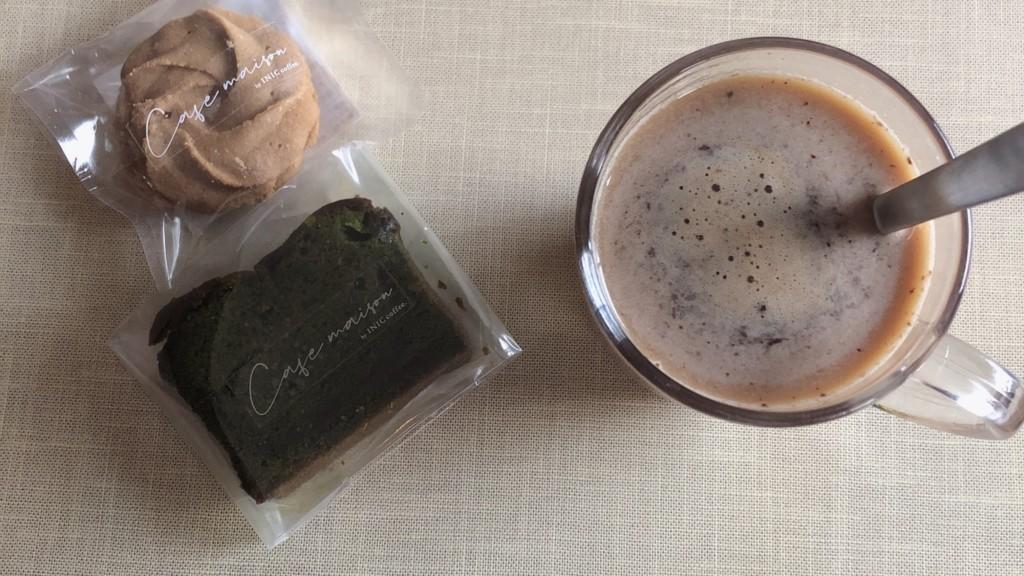 カフェメゾン5月号で届いたお菓子とコーヒーの味を本音レビュー!口コミは本当?① イニックコーヒー モーニングアロマ