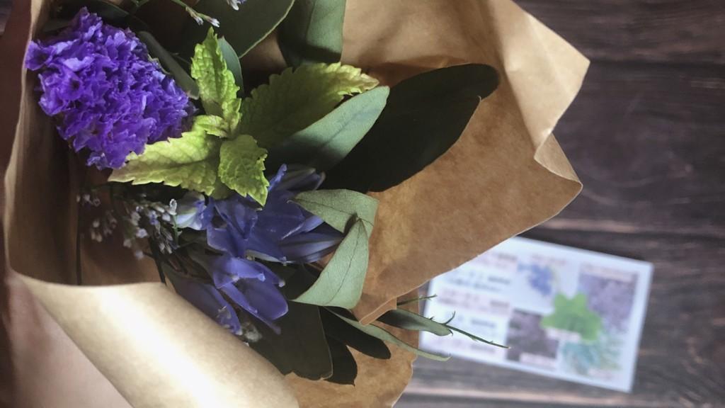ブルーミー(bloomee)から届いたお花を開封♪