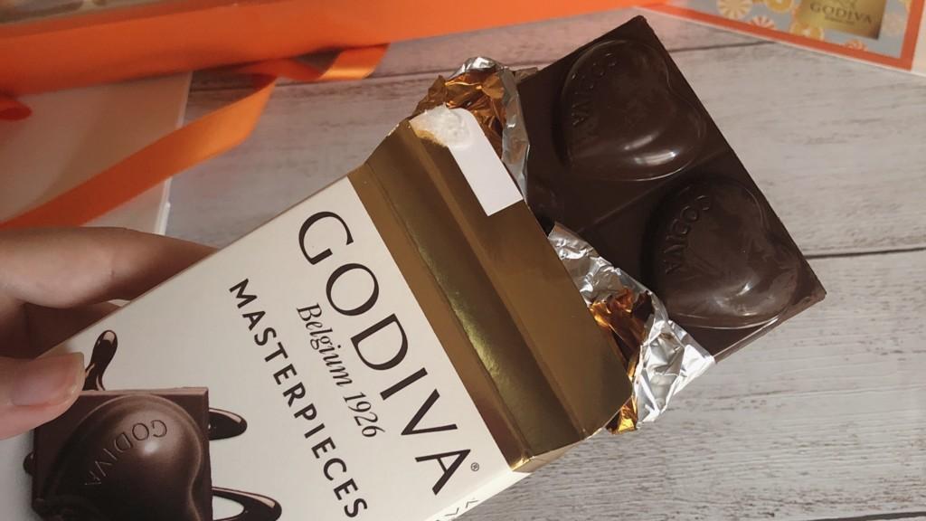 ②GODIVA マスターピースダークチョコレートガナッシュ